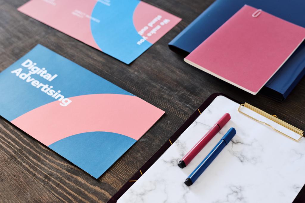 business card design banner